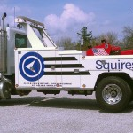 squires services big tow truck