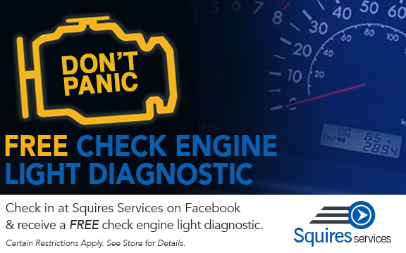 Free Diagnostic - Check Engine Light is On